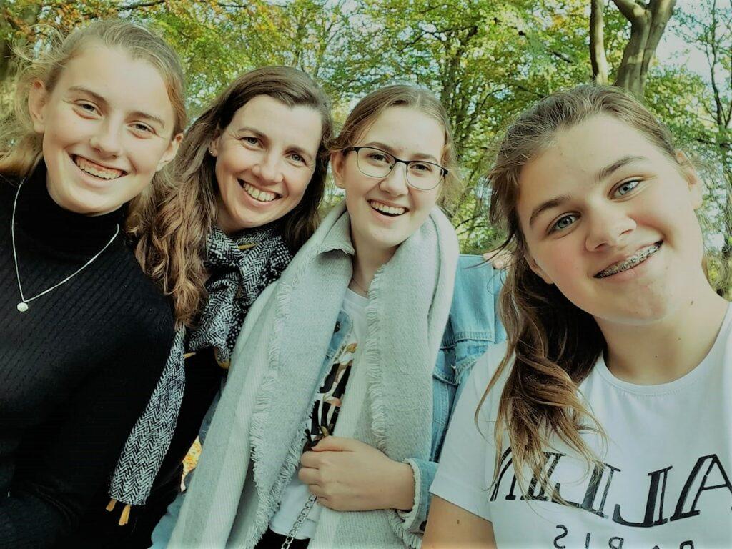 Foto met meiden